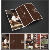 设计印刷木门折页  家具折页 企业宣传页 传单 折叠册