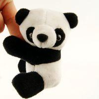 可爱毛绒熊猫夹子公仔玩偶便签 成都旅游纪念品出国送老外小礼物