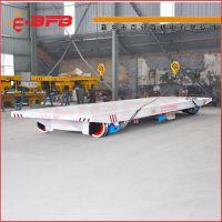 新厂房轨式物流系统轨道平车安装 输送水泥柱子电动过跨车 可定制