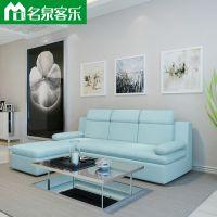 大连软包家具XH11913客厅布艺组合简约沙发大连家具工厂直销
