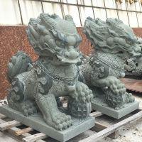厂家批发石雕加工定做雕塑汉白玉门口祥瑞貔貅石雕