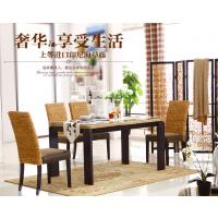 河北藤椅厂家直销酒店藤椅餐厅休闲桌椅组合藤编椅子客厅藤家具