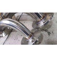 不锈钢预制管道法兰弯头焊接组装非标配件焊接组装