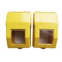 淮方供应玻璃钢燃气电表箱 仪表箱 燃气计量箱防水防盗
