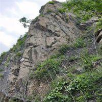 包塑边坡防护网 边坡防护网招聘 包山钢丝绳网工程