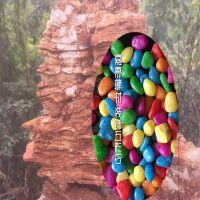 批发水族砂石  天然水草砂 染色五彩石规格全种类多