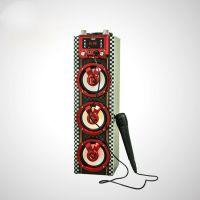 Gorock MX-R108E西班牙著名品牌木质便携式户外party蓝牙音箱卡拉OK收音机音箱
