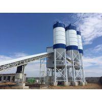 青岛辉特混凝土搅拌站HZS180采用双卧轴制式搅拌主机轴装式减速机传动方式