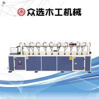 众选木工加工机械往复式直线修边机MXZ5125 多功能接木机曲直线修边机