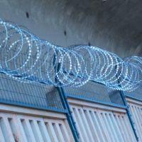 百瑞刺绳护栏网 镀锌刺丝滚笼护栏网隔离网