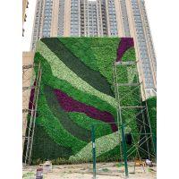 仿真绿植墙商场绿植墙餐厅植物墙户外草坪墙售楼处植物墙批发制作