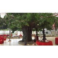 西安仿真树生产厂商供应仿真桃花树-西安金森造景仿真植物有限公司