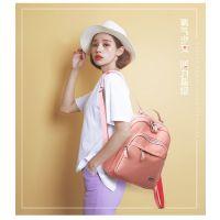 厂家直销双肩包女韩版2018新款百搭潮休闲包学生尼龙书包小背包