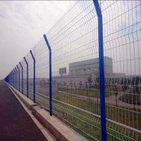 【护栏网】供应光伏电站双边丝护栏网 圈地养殖公路隔离护栏网