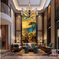 湖南大型漆壁画厂家 第一品牌 鸿韵画业