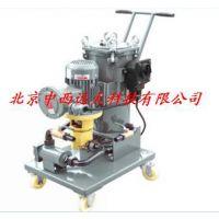 中西(LQS厂家)JL型推车式滤油机/三级型号:M176703库号:M176703