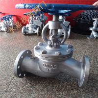 高温蒸汽管道铸钢截止阀 J41H-160C DN150 高压角式截止阀 J44H-100C/160C