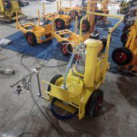 公路停车位划线机 小型热熔划线机 道路标线画线机设备