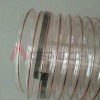 供应PU吸尘软管 TPU钢丝增强管 PU钢丝伸缩管 内经25mm-650mm