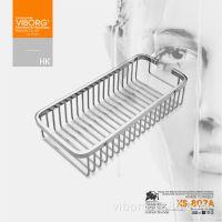 香港域堡 304不锈钢卫浴卫生间置物架 厨房五金挂件调味架XS-807A