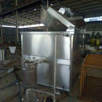 宏阳直销海苔花生油炸设备 商用普通不锈钢油炸膨化机