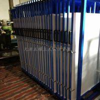 南京板材储存货架 抽拉式货架 立着放板材 存取方便 省空间