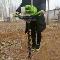 果树施肥挖坑机 工程施工埋桩打坑机 多功能手提挖洞机