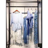 广州原创设计品牌埖坢19夏新款 实拍图 长款白色雪纺半身裙折扣批发哪有