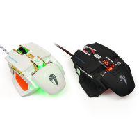 厂家批发新款罗摩正品G20鼠标USB游戏鼠标CF/LOL 一件代发