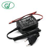 12V1A线入线出电源适配器 欧规12V适配器 可定制款