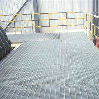 热镀锌钢格板 设备高架平台 养殖场走道板