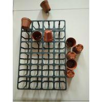 红色圆花盆塑料 多肉小圆花盆美观实用 迷你型圆形塑料小红花盆