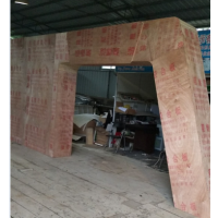 南宁合诚展览搭建展位木质结构展位