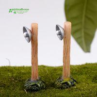 苔藓微景观 多肉植物摆件 乡村路灯 小摆件DIY材料