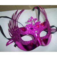 表演面具凤冠面具皇冠面具电镀美女面具蝴蝶面具