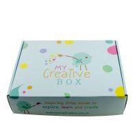 杭州厂家专业定制彩色飞机盒单E瓦楞纸包装盒定做logo四色印刷