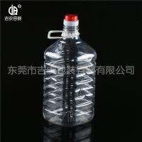 5L透明食品油瓶 厂价直销透明油罐质量保证价格优惠