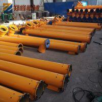厂家直销螺旋输送泵 水泥管式输送机 不锈钢螺旋绞龙上料机
