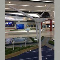 全铝合金风力发电机模型定制金属风力发电机风电风能设备模型制作