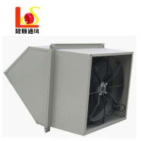 厂家直销WEX/DFBZ方形边墙风机 配防雨弯头防虫网轴流边墙排风机