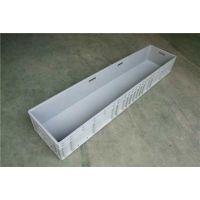 厂家XH-雄豪供应周转箱可堆式长方形灰色EU物流箱1.8米1.5米1.4米1.2米养鱼养龟胶箱