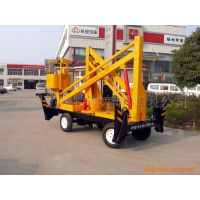 供应两用14米价格优惠升降机 可旋转 自行走升降台