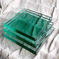 厂家定制加工各种尺寸夹胶玻璃 ,雨棚建筑夹胶钢化玻璃