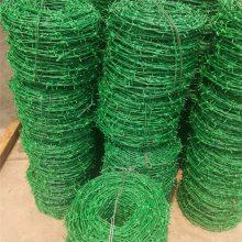 河北生产pvc包塑刺绳网 带刺护栏网