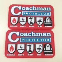 PVC塑胶标签、PVC软胶标签、标牌 商标 胶章