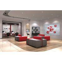 银行办公沙发厂家专业定做 等候沙发组合客户座椅