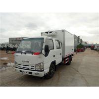 五十铃双排座3.15米冷藏车 程力2.8L排量冷链运输车