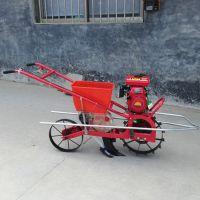 柴油链轨双筒汽油播种机/农用汽油柴油链轨式耘播机
