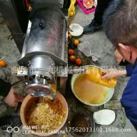 不锈钢粉碎脱汁机 质量保证 价格厂家直销榨苹果汁的机器设备