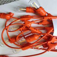 10米24灯灯串线 高低压灯串 E26防水灯头 养殖灯串 厂家直销